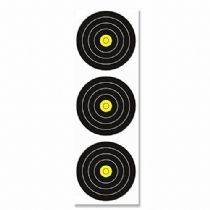 Field Targets by JVD, 3 x 20cm Vertical Compound Bow Targets